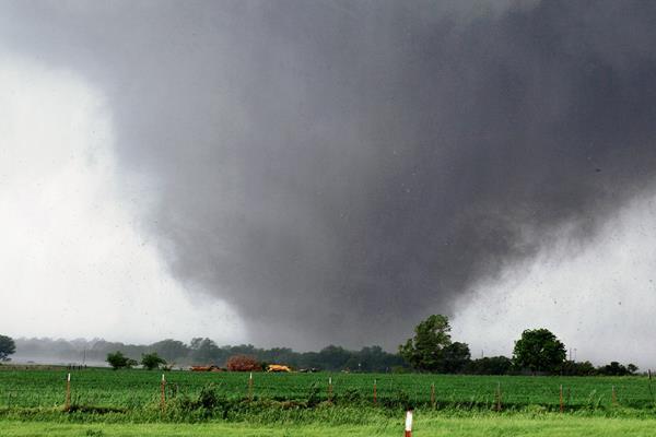 Una serie de tornados podría afectar este sábado a Texas, EE. UU. (Foto Prensa Libre:AP).