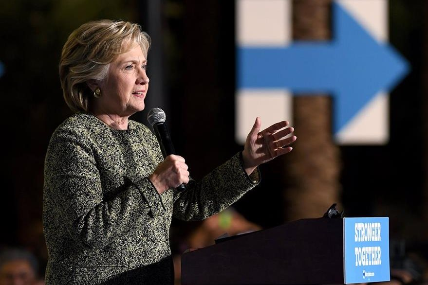 Hillary Clinton, aspirante demócrata. (AFP)