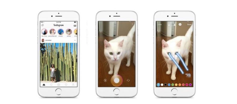 Instagram implementa una de las funciones más famosas de Snapchat. (Foto Prensa Libre: Tomada de blog.instagram.com)