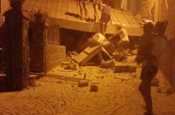 Hasta ahora las autoridades no reportan víctimas por el sismo.