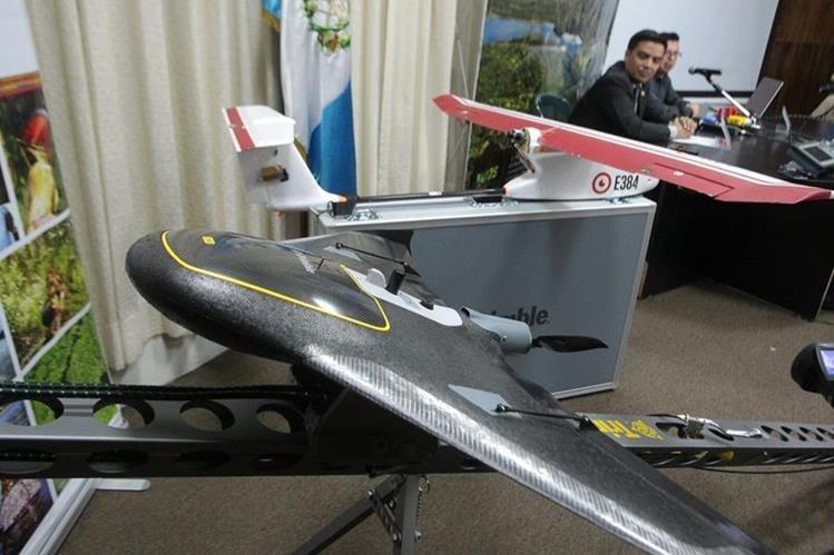 Con drones el Conap vigilará las áreas protegidas de Guatemala. (Foto Prensa Libre: A. Interinao)