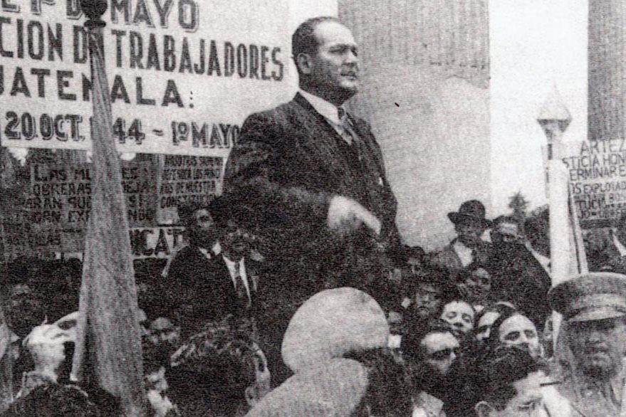 """Arévalo define su filosofía política como """"Socialismo espiritual"""", el cual cautivó al electorado durante la breve campaña en 1944. (Foto: Hemeroteca PL)"""