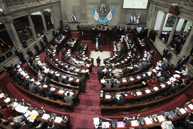 Los diputados son acusados de corrupción, lavado de dinero, tráfico de influencias y otros delitos. (Foto Prensa Libre: Hemeroteca PL)