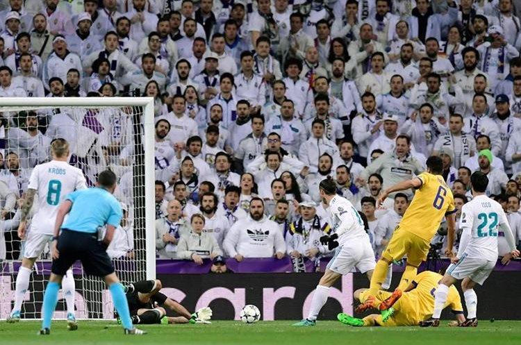 Bale tuvo una opción de gol que no pudo concretar.