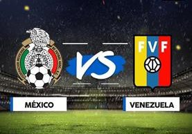 México y Venezuela lucharán por quedarse con el primer lugar del Grupo C. (Foto Prensa Libre: TodoDeportes)