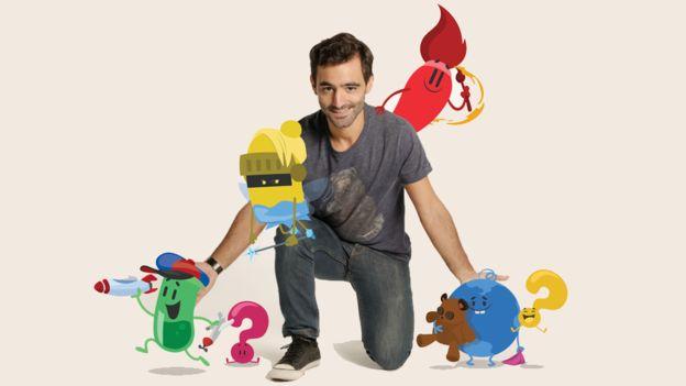 Preguntados incluye personajes de dibujos animados que guían a los usuarios por el juego.
