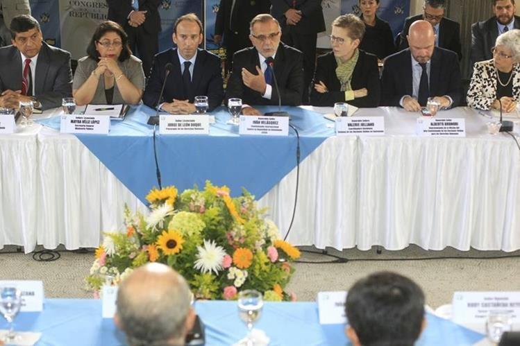 La Cicig encabeza un diálogo nacional para reformar la justicia en Guatemala, las reuniones con sectores empiezan en marzo (Foto Prensa Libre: Edwin Bercían)