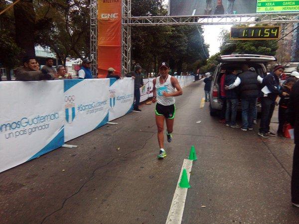 Barrondo aseguró sentirse al cien por ciento para competir en los Juegos Olímpicos. (Foto Prensa Libre: Norvin Mendoza)
