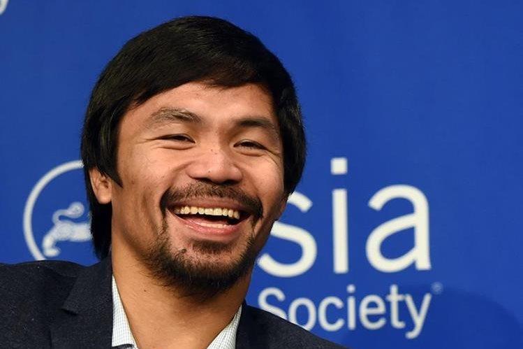 El boxeador filipino Manny Pacquiao dijo que la pelea con Timothy Bradley será la última de su carrera. (Foto Prensa Libre: AFP)