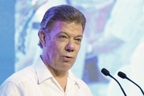 Juan Manuel Santos, mandatario de Colombia.