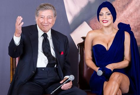 Tony Bennett y Lady Gaga ofrecerán show privado en Bélgica. (Foto Prensa Libre: AP)