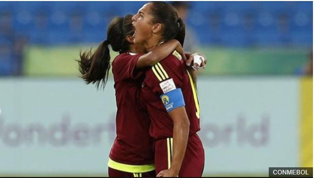 Deyna Castellanos ya ganó el premio al mejor gol en la Copa Mundial sub17 que se celebra en Jordania.