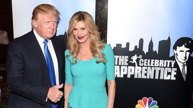 Trump es un maestro de la televisión. GETTY IMAGES