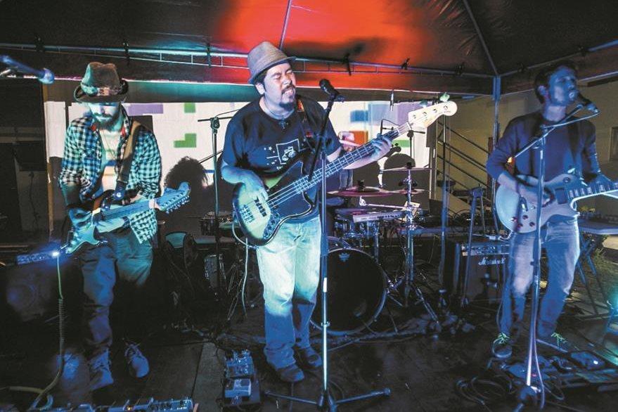 Filoxera participó en el 2016 en la gira Triciclo y ofreció nueve conciertos. (Foto Prensa Libre: Keneth Cruz)