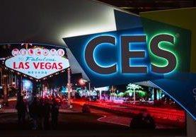 El logo del CES en las calles de Las Vegas. El festival inicia este martes (Foto Prensa Libre: AFP).