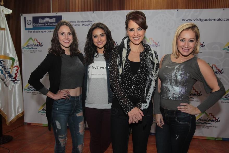 Alejandra García, Renata Notni, Gabriela Carrillo y Marisol del Olmo. (Foto Prensa Libre: Edwin Castro).