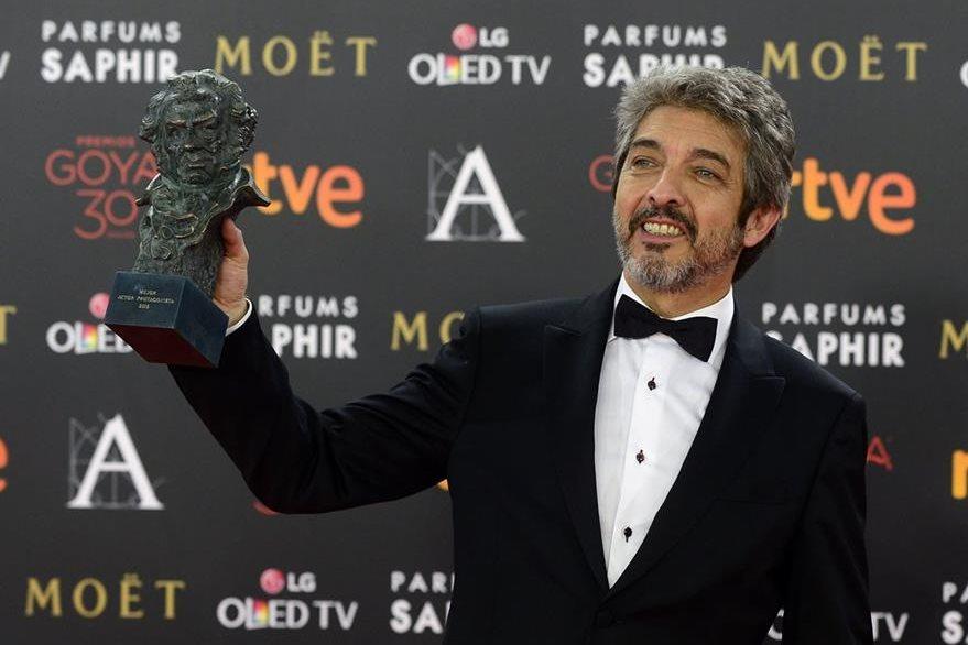 Ricardo Darin se llevó el premio a mejor actor. (Foto Prensa Libre: AFP)