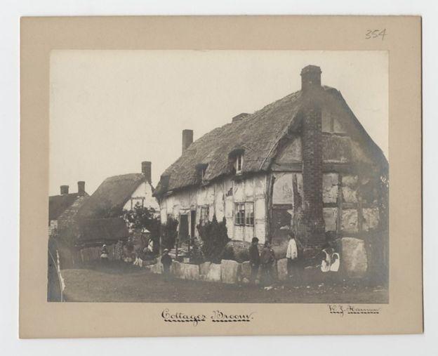 A partir de esta imagen, cientos de fotógrafos comenzaron a tomar fotos de edificios que eran importantes para ellos. Foto cortesía de Birmingham Archives & Heritage. BIRMINGHAM ARCHIVES & HERITAGE