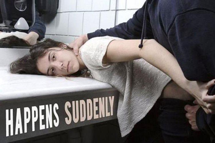 La serie de imágenes recrean violaciones en Estados Unidos. (YANA MAZURKEVICH)