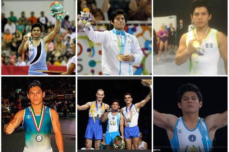 Jorge Vega ha marcado grandes momentos en la gimnasia para Guatemala. (Foto Prensa Libre).