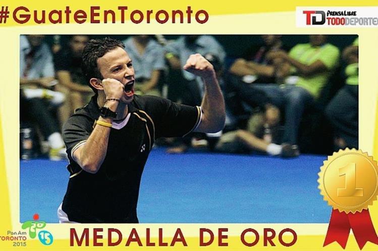 El guatemalteco defendió su corona en los Juegos Panamericanos. (Foto Prensa Libre: TodoDeportes)