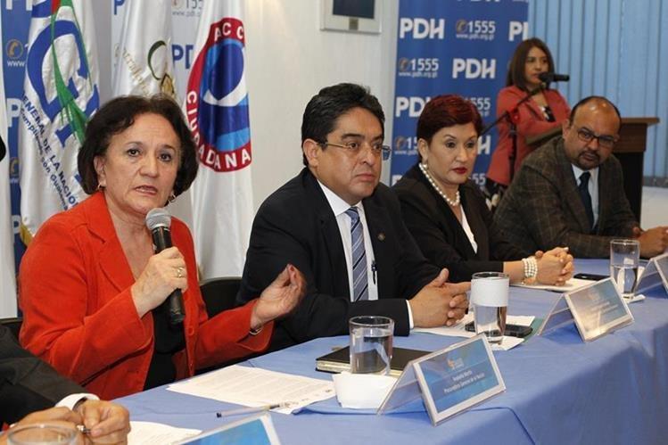 La PGN, la PDH y el MP se manifestaron en contra del intento del presidente de expulsar al comisionado de la Cicig, Iván Velásquez. (Foto Prensa Libre: Hemeroteca PL)
