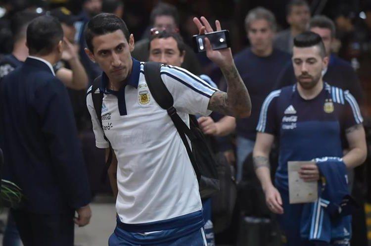 Ángel Di María espera aportar para que su selección clasifique a la Copa del Mundo de Rusia 2018. (Foto Prensa Libre: AFP)