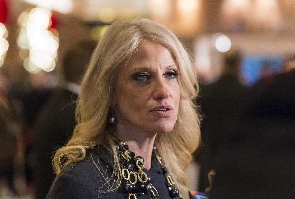 Kellyanne Conway, directora de campaña durante el ciclo electoral de Donald Trump. (EFE).
