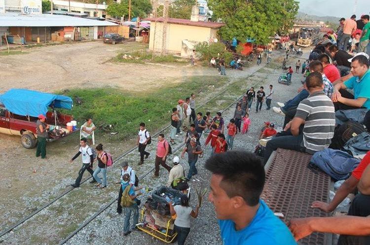 22 mil 700 guatemaltecos retornados de México hubo  entre enero y el 2 de octubre. (Foto: Hemeroteca PL)
