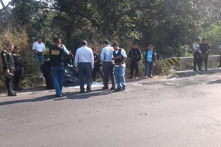 El cadáver del alcalde de Samayac, Suchitepéquez, fue localizado en un camino de Mazatenango. (Foto Prensa Libre: Hemeroteca PL).