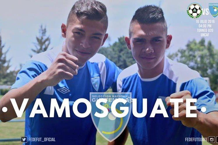 La selección de Guatemala va por el pase al Premundial. (Foto Prensa Libre: Cortesía Fedefut)