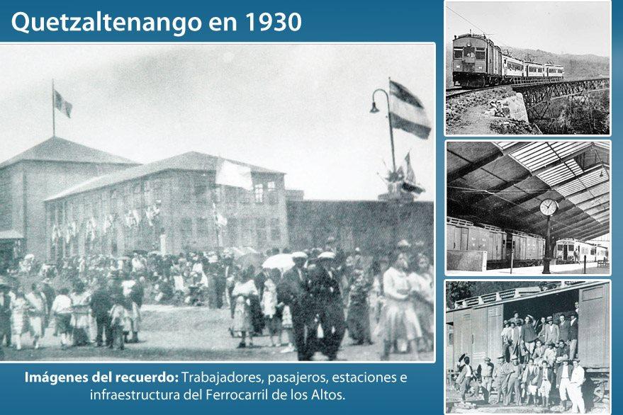 De esta forma fue fotografiado el Ferrocarril de Los Altos en 1930. (Foto: Hemeroteca PL)