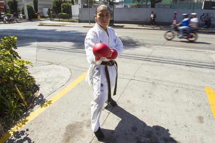 González está lista para comenzar el camino rumbo a Tokio 2020. (Foto Prensa Libre: Norvin Mendoza)