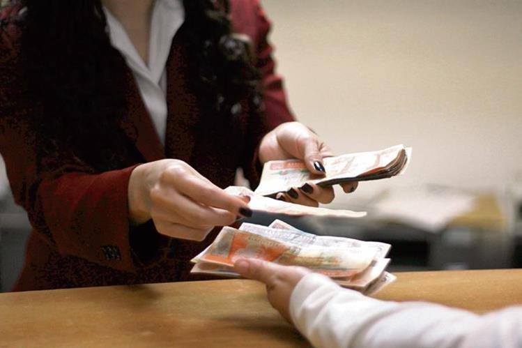El requerimiento de papel moneda se incrementará en la economía. (Foto Prensa Libre: Hemeroteca PL)
