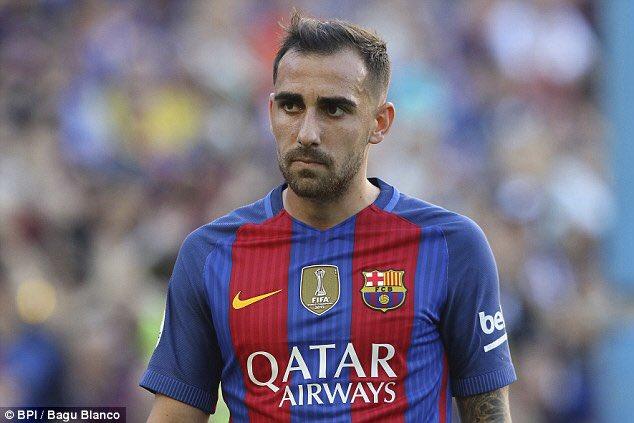 Paco Alcácer ha sido el escogido para sustituir al suspendido Neymar en el Clásico del futbol español. (Foto Prensa Libre: Hemeroteca PL).