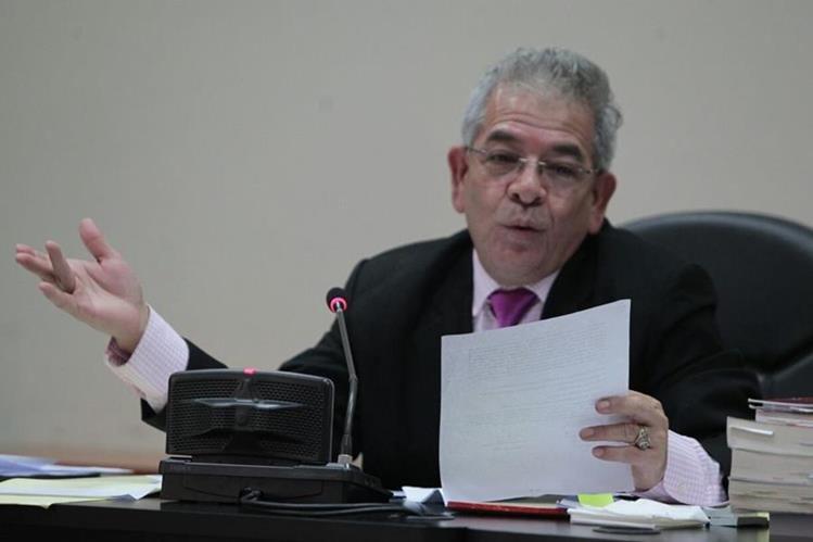 Juez Miguel Ángel Gálvez ordenó que Baldetti otra vez sea trasladada a un hospital. (Foto Prensa Libre: Carlos Hernández)