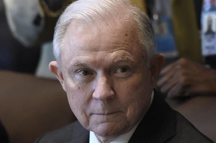 Testimonio de Sessions es esperado en EE. UU. (Foto Prensa Libre: EFE)