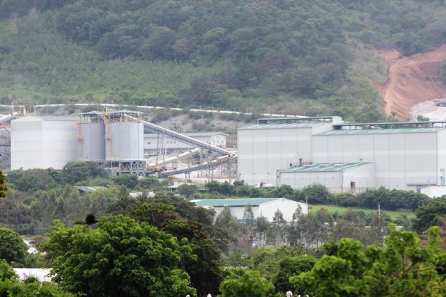Panorámica de la mina San Rafael, en Santa Rosa. (Foto Prensa Libre: Hugo Oliva)