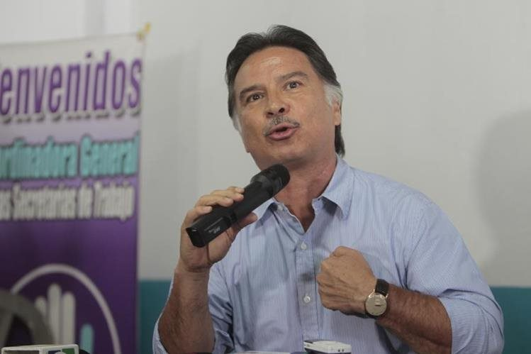 Alfonso Portillo busca una curul en el Congreso por el partido Todos. (Foto Prensa Libre: Hemeroteca PL)