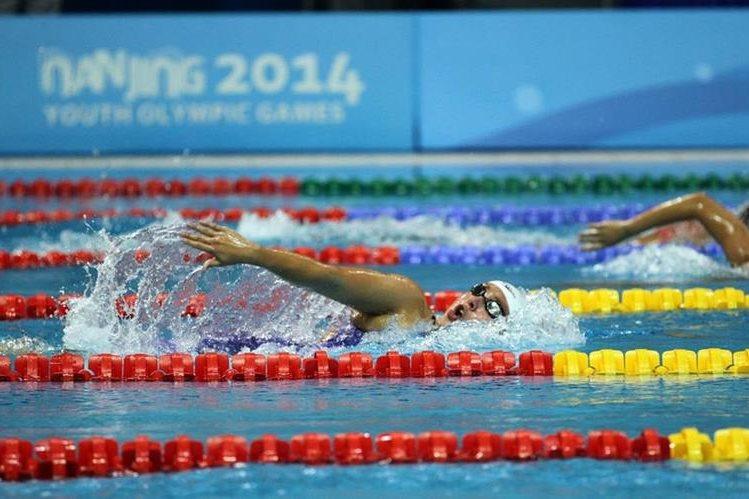 Valerie Gruest es la atleta 19 de Guatemala, que competirá en Río 2016. (Foto Prensa Libre: COG)