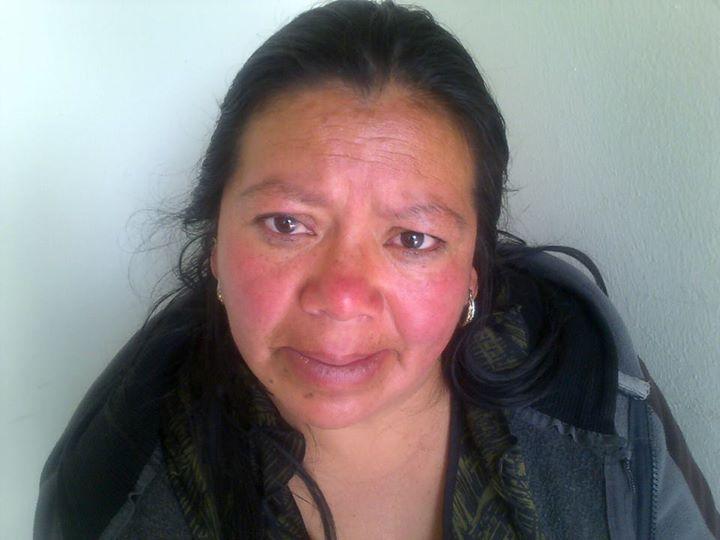 Ciriaca Elizabeth Oroxom Gómez es capturada en la zona 3 de Xela, por hurto agravado. (Foto Prensa Libre: María José Longo)