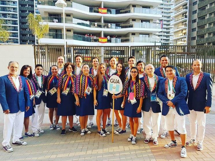 Así saldrá la delegación de Guatemala en la inauguración de los Juegos de Río 2016. (Foto cortesía Sofía Gómez).