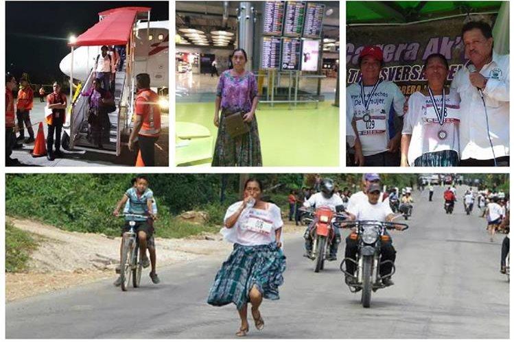 La corredora fue elegida por la Fundación Iniciativa Civil para la Democracia (Incide) y Eukal Fondoa para representar a Guatemala. (Foto Prensa Libre).
