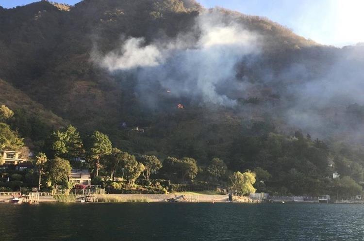 Eliezer Peralta Dirección Técnica del CONAP, dijo que el año 2016 afecto 14 incendios 46 hectáreas.