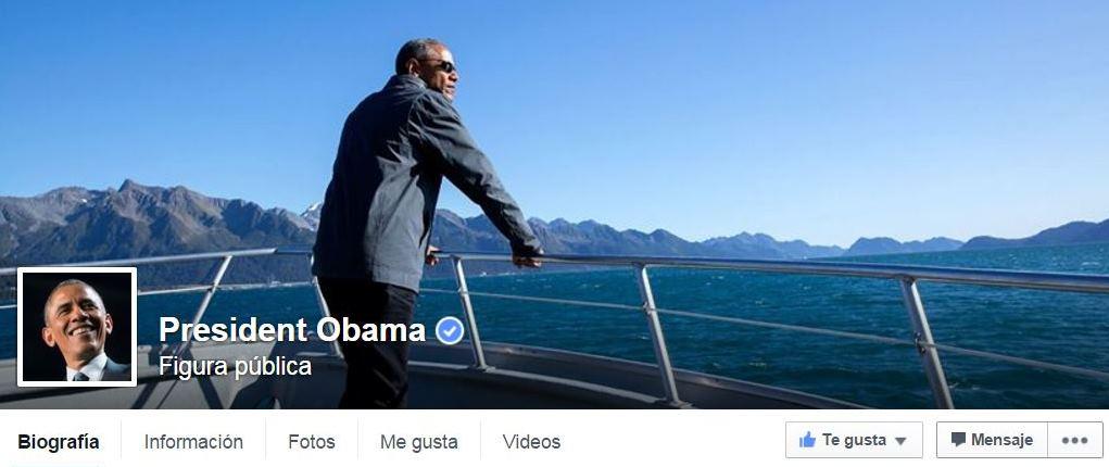 Obama estrenó este lunes su cuenta en la popular red social. (Foto: captura de pantalla de Facebook/President Obama).