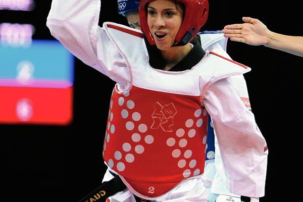 La atleta nacional Elizabeth Zamora quiere destacar en los Juegos de Toronto. (Foto Prensa Libre: Hemeroteca PL).