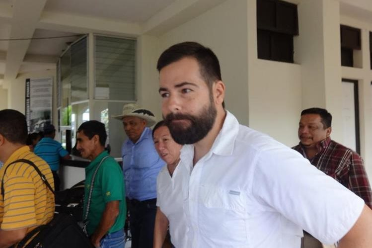 Ricardo Maldonado Quinoñez, exalcalde de Chicacao, Suchitepéquez, fue ligado a proceso. (Foto Prensa Libre: Omar Méndez)