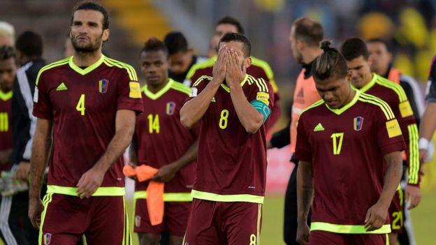 Venezuela es el único país de la confederción sudamericana que no ha participado en un mundial. Getty Images