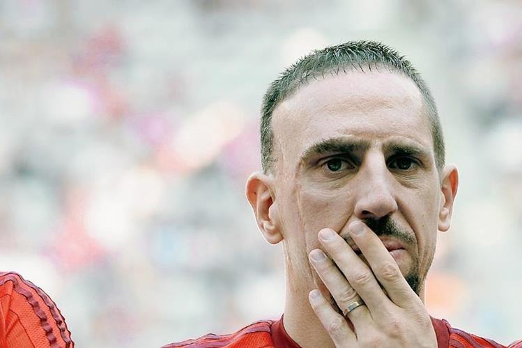 Franck Ribery demandó a una revista por una publicación y solicita 400 mil euros de indemnización. (Foto Prensa Libre: Hemeroteca)