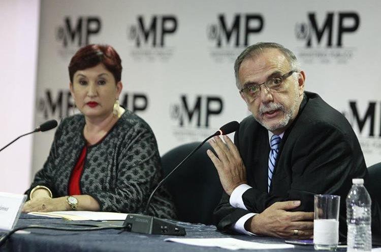 El 25 de agosto el Ministerio Público y la Cicig presentaron una solicitud de antejuicio contra Jimmy Morales por financiamiento electoral ilícito. (Foto Prensa Libre: Hemeroteca PL)